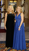 Ashleen Burke and Samantha Kelly at the MAXTRAVAGANZA Annual Blacktie Ball in aid of the Baby Max Wings of Love Fund held in Fitzpatrick's Killiney Castle hotel