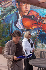At Barrio Anita (bo mackison) Tags: arizona southwest art mural tucson publicart barrios tucsonarizona ussouthwest barrioanita christmasinthebarrio patriciapreciadomartin barrioanitamuralproject