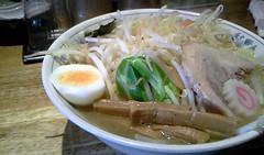 Ramen with vegetable from Taishoken @ Iidabashi (Fuyuhiko) Tags: from tokyo with vegetable ramen  iidabashi    taishoken