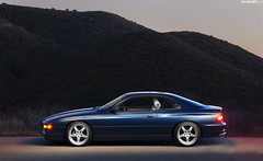 John's 840Ci 6-Speed (mojocoggo) Tags: dylan classic luz sport vintage de photography wheels socal swap bmw manual temecula leff hamann avus 6speed 8series e31 850ci 850i 840ci 850csi mojocoggo