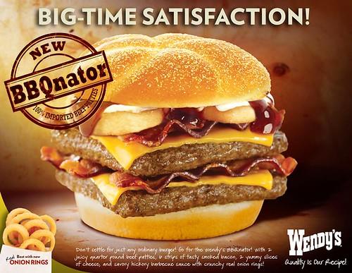 Wendy's BBQnator