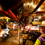 Chiang Mai - Flying By in a Tuk-Tuk