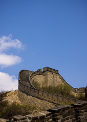 The Great Wall, Beijing, China (Eric Lafforgue) Tags: china travel vacation mountain color colour brick tower history nature vertical stone wall architecture composition fence wonder outside photography amazing ancient asia long day tour image fort outdoor miracle extreme beijing nobody nopeople location unescoworldheritagesite step achievement stonewall greatwall copyspace badaling length setting protection brilliant buildingfront topics greatwallofchina rockformation mountainrange eastasia chineseculture pekin northchina capitalcity colorimage famousplace landfeature buildingexterior nationallandmark colorpicture nonurbanscene fortifiedwall internationallandmark surroundingwall traveldestination focusonforeground imagetype beijingprovince builtstructure mg9563