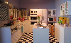 Kitchen renovation complete! (jujuishappy) Tags: kitchen miniature
