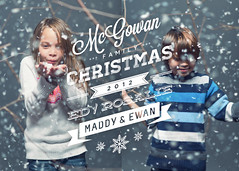 McGowan Family Christmas 2012 (isayx3) Tags: christmas xmas family blue red portrait snow kids ed typography nikon bokeh 85mm card nikkor f18 18 d800 onelight pocketwizards strobist ab800 isayx3 edwardmcgowan plainjoephotoblogcom
