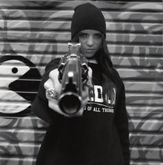 Gangster Girl & Gun (A Gun & A Girl.) Tags: guns girls muscles arms shootingguns hotguns gunshotwounds blood gettingshot sexygirls hotgirls girlsshootingguns girlsgettingshotwithaguns girlswithguns
