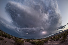 Lightning! (inlightful) Tags: lightning storm monsoon southwest desert newmexico clouds sky thunder rain