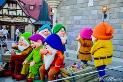 Seven Dwarfs (disneylori) Tags: happy disney sleepy disneyworld characters wdw waltdisneyworld doc grumpy magickingdom fantasyland hallowen dopey bashful dwarfs sneezy snowwhiteandthesevendwarfs disneycharacters mnsshp mickeysnotsoscaryhalloweenparty nonfacecharacters meetandgreetcharacters