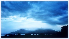 Night falls on the lakes of Killarney. (arransquare) Tags: killarney ireland dusk blue nightsky darkness lake