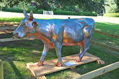 "Surrey Hills Cow Parade ""Cow Patina"" (Andrew-M-Whitman) Tags: surrey hills cow parade patina meath epilepsy charity hospices"
