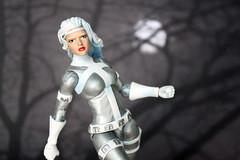 Silver Sable Custom (RequiemArt.com) Tags: silver sable marvel legends custom figure ooak comic book spider man spiderman