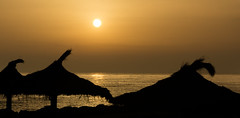 Cala Bona at Sunrise (II AsH II) Tags: calabona majorca balearics goldenhour golden seaside sun sunrise ashleytownsend nikond7100 1870mm gorillapod balearicislands silhouette dawn morning mediterranean mediterraneansea sea