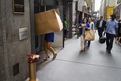 (elkogan) Tags: figure street color colorstreetphotography newyorkcity urban
