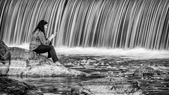 """Siri, where am I?"" (m_hamad) Tags: siri nature naturebeauty greatnature explore nationalgeographic park farm dazzlingshot beauty canon usa 7dmkii blinkagain ultimateshot supershot nova greatfalls water waterfalls waterfall blacknwhite blackandwhite black dof leadinglines rocks fall speing canonusa aqueductdam dam candid iphone slowshutterspeed"