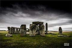 Moody Morning At The Stones. (ziggystardust111...taking a break !!!) Tags: stones grass darkclouds stonehenge
