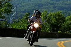 Triumph 1608203508w (gparet) Tags: bearmountain bridge road scenic overlook motorcycle motorcycles goattrail goatpath windingroad curves twisties outdoor vehicle