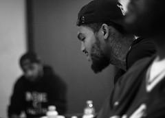 Harlem's Finest (Brotha Kristufar) Tags: portrait portraits portraiture monochrome black white canon studio hip hop culture nyc harlem brooklyn uptown explore explored views profile work