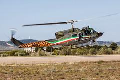 Zaragoza NTM 2016 :  AMI AB212 mm81161/9-61 (Hermen Goud Photography) Tags: 2016 ab212 ami canon exercisecampagne italianairforce itali italy mm81161961ab212ico militair ntm2016 oefening photo specialcolorscheme tigermeet zaragoza aircraft aviation specialmarkings