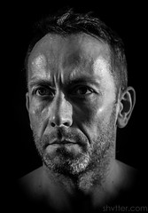 Self II (#Weybridge Photographer) Tags: studio adobe lightroom canon eos dslr slr 40d low key male man