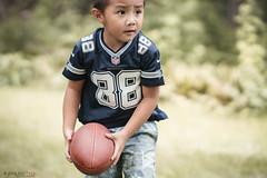 back to football (r3ddlight) Tags: sonya6300 sonyphoto sony85mmgm asianboy a6300 portrait football dallascowboys jerseys cowboys childphotography childern