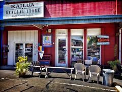 Kailua General Store (jcc55883) Tags: hawaii oahu kailua hamakuastreet kailuageneralstore generalstore ipad ipadair sign hawaiisign