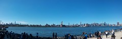 Manhattan as seen from East River State Park (buky_anty) Tags: manhattan ny nyc skyline skyscraper panorama