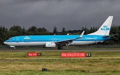 KLM - Boeing 737-9K2/W PH-BXT @ Edinburgh (Shaun Grist) Tags: phbxt klm klmroyaldutchairlines boeing 737 shaungrist edi egph edinburgh edinburghairport edinburghturnhouse airport aircraft aviation aeroplanes airline avgeek