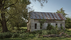 Old House With Green Trim (Mike Schaffner) Tags: abandoned decay decayed derelict deserted dilapidated home house old douglass texas unitedstates us