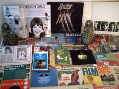 1968 - 1969 : (Retro King) Tags: 1968 retro records 1969 beatles albums vinyl lps singles paperbacks magazines books comicbooks snoopy comics apple vintage collectables