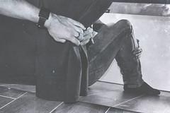 Myself (marcus.greco) Tags: selfportrait portrait myself man mirror surreal conceptual trama vintage black white
