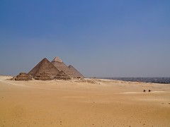 Giza Pyramids (brittnoy09) Tags: gizapyramids giza egypt ancientegypt