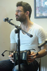 Talisk (2016) [2nd] 03 - Mohsen Amini (KM's Live Music shots) Tags: folkmusic greatbritain scotland scottishfolk irishfolk talisk mohsenamini angloconcertina concertina sidmouthfolkweek kennawayhouse