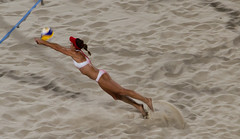 Dive (Richard Parmiter) Tags: rio2016 beachvolleyball olympicgames copacabana