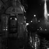 Rome by night (Claudio Taras) Tags: claudio contrasto rolleiflex35f rodinal rollfilm 6x6 film fomapan nero night street shadow streetshot roma people persone fantasmi rain grain grana medioformato mediumformat analogica analogico selfdev taras monocromo