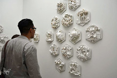 START Art Fair Saatchi 2016 (Butterfly Art News) Tags: start art fair saatchi 2016 london contemporary yunhee lee for in out arts