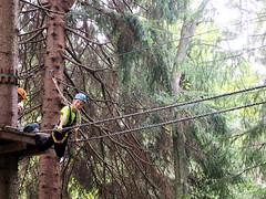 P8234086e (topzdk) Tags: treeclimbing summer 2016 czechrepublic ski slope lanovy park