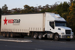 Iveco Redstar Transport CJ45HT (NTG's pictures) Tags: blue mountains greatwesternhighway bulls camp reserve iveco redstar transport cj45ht