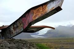 Detalle de los Graffitis  en el  Puente Gigjukvisl.Islandia. (lameato feliz) Tags: puentegigjukvisl glaciales puente graffitis paisaje