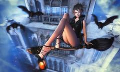 Dark magic heels (clau.dagger) Tags: astralia thefantasycollective tram insol catwa moonelixir birdy eve scarletcreative secondlife fashion fantasy style shoes slhalloween2016