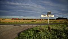 Speeding Through Northumberland (wwatfam) Tags: hst 125 diesel express passenger train virgin east coast rock northumberland rennington chathill alnmouth trains railways railroad england britain