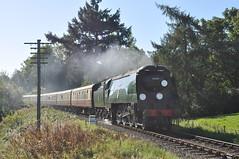 20100925    34070 (paulbrankin775) Tags: bulleid unrebuilt pacific battle britain 34070 manston severn valley railway autumn steam gala 2010 train