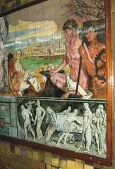 Subte, Buenos Aires (Skellig2008) Tags: argentina mural subte buenosairessubte