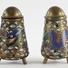 154. Fine Cloisonne Salt and Pepper Shakers