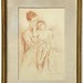 229.  Mary Cassatt Lithograph - Mother & Child