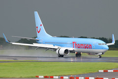G-TAWG (johnmorris13) Tags: thomson boeing 737 manchesterairport b737 737800 egcc b737800 thomsonairways gtawg