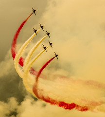 Phoenix [Explored 11/11/2012] (Emma Barr Photography) Tags: art photography scotland nikon hawk aviation military jet pilot redarrows raf pilots t1 aerobatic militaryaviation explored fastjet aerobaticdisplay flickrexplored eastfortuneairshow d7000 bubsybarr bubsybarrexplored