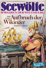 Seewlfe 287 (micky the pixel) Tags: groschenheft groschenroman pulp dimenovels seewlfe korsar schiff segelschiff ship wikinger pabelverlag johncurtis aufbruchderwikinger