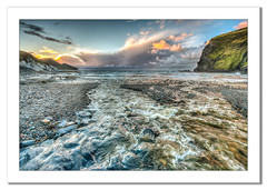 View at Crackington Haven (Travels with a dog and a Camera :)) Tags: november sea england haven photoshop dc pentax unitedkingdom sigma national trust 1020mm nationaltrust crackington hdr seaview 2012 lightroom crackingtonhaven photomatix cs6 1456 k20d pentaxk20d sigma1020mm1456dc photoshopcs6 43rc lightroom43rc