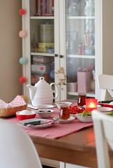 Turkish Breakfast (cafe noHut) Tags: red food tea homedecoration turkishbreakfast breakfastsetting