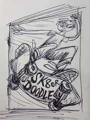 SK8 or DOODLE (Dan Moynihan) Tags: zine illustration comics skateboarding sketchbook doodle skateboard minicomic